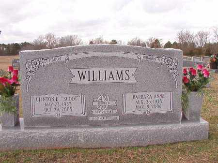"WILLIAMS, CLINTON E ""SCOOT"" - Dallas County, Arkansas 