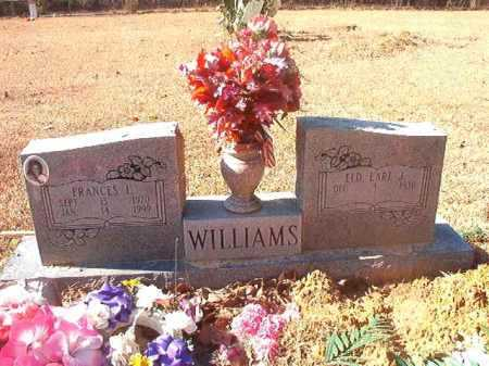 WILLIAMS, FRANCES L - Dallas County, Arkansas | FRANCES L WILLIAMS - Arkansas Gravestone Photos