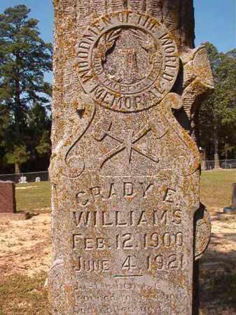 WILLIAMS, GRADY E - Dallas County, Arkansas   GRADY E WILLIAMS - Arkansas Gravestone Photos