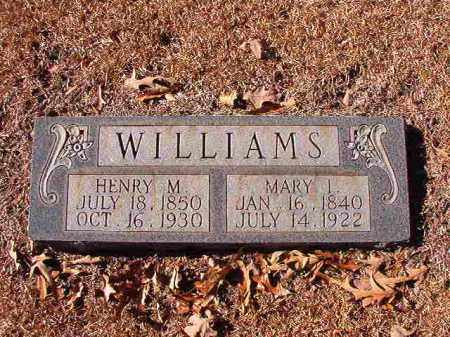 WILLIAMS, HENRY M - Dallas County, Arkansas | HENRY M WILLIAMS - Arkansas Gravestone Photos