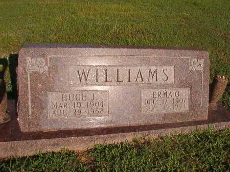 WILLIAMS, HUGH J - Dallas County, Arkansas | HUGH J WILLIAMS - Arkansas Gravestone Photos