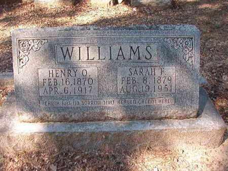 WILLIAMS, HENRY O - Dallas County, Arkansas | HENRY O WILLIAMS - Arkansas Gravestone Photos