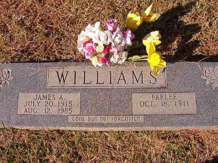 WILLIAMS, JAMES A - Dallas County, Arkansas | JAMES A WILLIAMS - Arkansas Gravestone Photos
