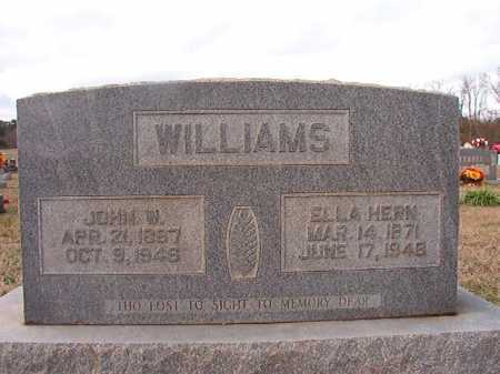 HERN WILLIAMS, ELLA - Dallas County, Arkansas | ELLA HERN WILLIAMS - Arkansas Gravestone Photos