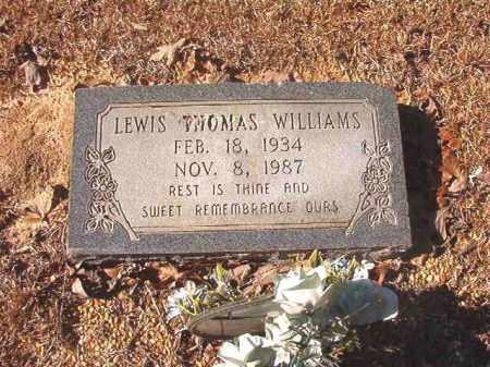 WILLIAMS, LEWIS THOMAS - Dallas County, Arkansas | LEWIS THOMAS WILLIAMS - Arkansas Gravestone Photos