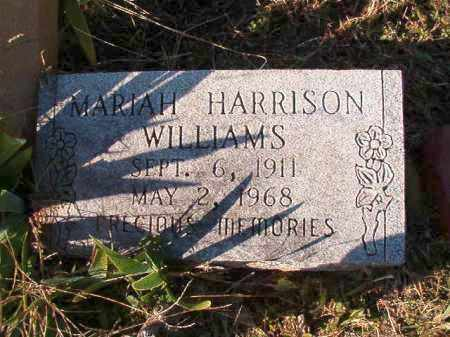 WILLIAMS, MARIAH - Dallas County, Arkansas | MARIAH WILLIAMS - Arkansas Gravestone Photos