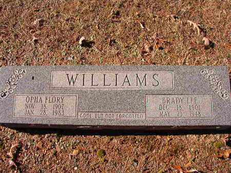 WILLIAMS, OPHA FLORY - Dallas County, Arkansas | OPHA FLORY WILLIAMS - Arkansas Gravestone Photos