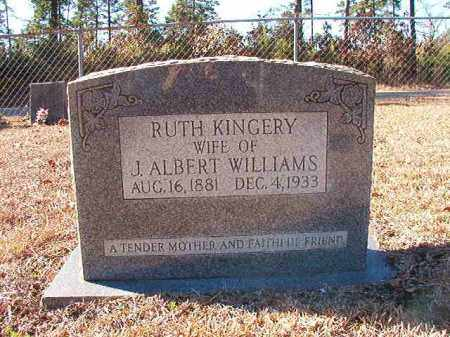 KINGERY WILLIAMS, RUTH - Dallas County, Arkansas | RUTH KINGERY WILLIAMS - Arkansas Gravestone Photos