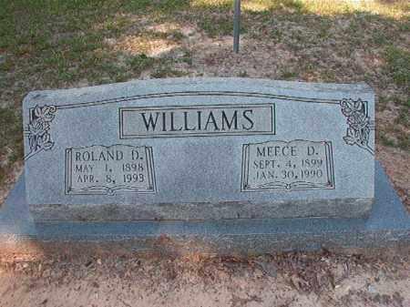 WILLIAMS, MEECE D - Dallas County, Arkansas | MEECE D WILLIAMS - Arkansas Gravestone Photos