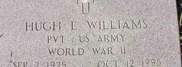 WILLIAMS (VETERAN WWII), HUGH E - Dallas County, Arkansas   HUGH E WILLIAMS (VETERAN WWII) - Arkansas Gravestone Photos