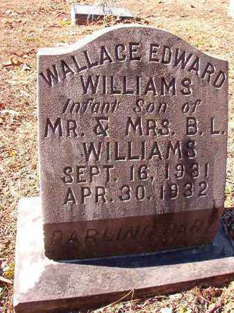 WILLIAMS, WALLACE EDWARD - Dallas County, Arkansas | WALLACE EDWARD WILLIAMS - Arkansas Gravestone Photos