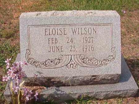 WILSON, ELOISE - Dallas County, Arkansas   ELOISE WILSON - Arkansas Gravestone Photos