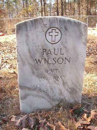 WILSON, PAUL - Dallas County, Arkansas | PAUL WILSON - Arkansas Gravestone Photos