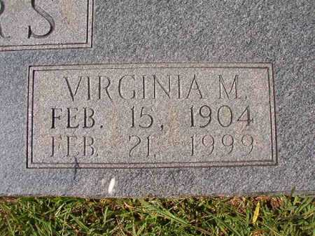 WINTERS, VIRGINIA M - Dallas County, Arkansas   VIRGINIA M WINTERS - Arkansas Gravestone Photos