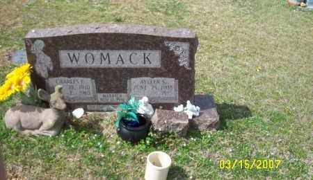 SCRIMSHIRE WOMACK, AYLEEN S. (ALMA AYLEEN) - Dallas County, Arkansas | AYLEEN S. (ALMA AYLEEN) SCRIMSHIRE WOMACK - Arkansas Gravestone Photos