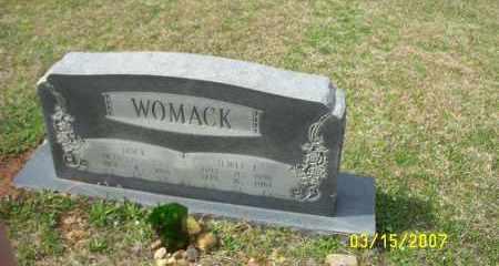 WOMACK, DOCK (BALIS) - Dallas County, Arkansas | DOCK (BALIS) WOMACK - Arkansas Gravestone Photos