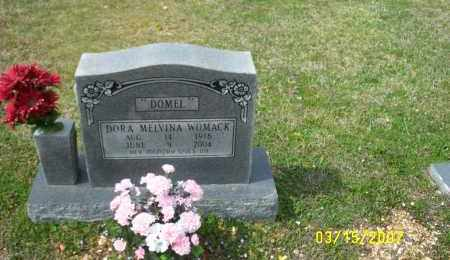 "WOMACK, DORA MELVINA ""DOMEL"" - Dallas County, Arkansas | DORA MELVINA ""DOMEL"" WOMACK - Arkansas Gravestone Photos"