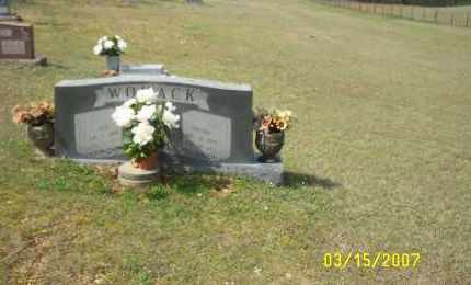 WOMACK, JACK (ANDREW JACKSON) - Dallas County, Arkansas | JACK (ANDREW JACKSON) WOMACK - Arkansas Gravestone Photos