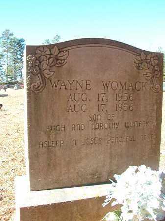 WOMACK, WAYNE - Dallas County, Arkansas | WAYNE WOMACK - Arkansas Gravestone Photos