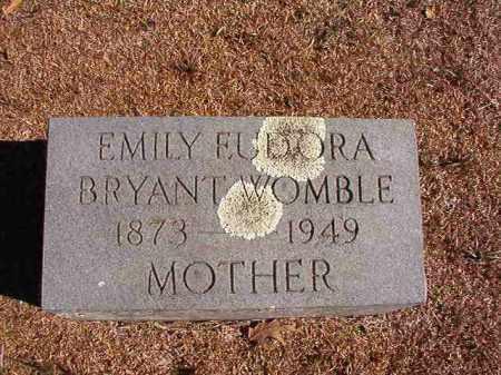 WOMBLE, EMILY EUDORA - Dallas County, Arkansas | EMILY EUDORA WOMBLE - Arkansas Gravestone Photos