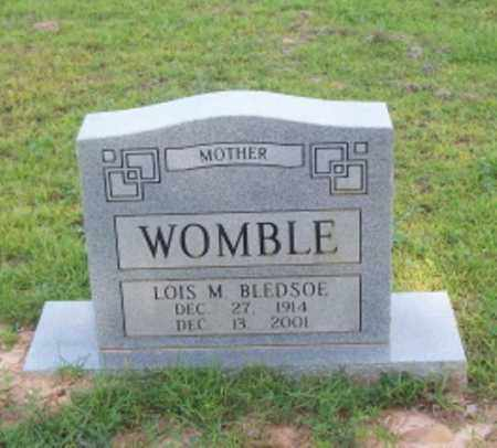 WOMBLE, LOIS M. - Dallas County, Arkansas | LOIS M. WOMBLE - Arkansas Gravestone Photos