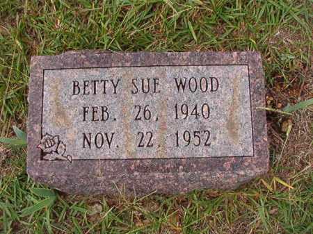 WOOD, BETTY SUE - Dallas County, Arkansas | BETTY SUE WOOD - Arkansas Gravestone Photos