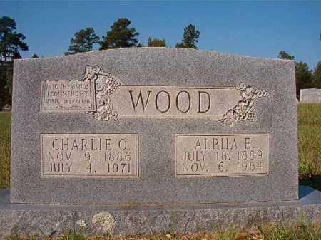 WOOD, ALPHA E - Dallas County, Arkansas | ALPHA E WOOD - Arkansas Gravestone Photos
