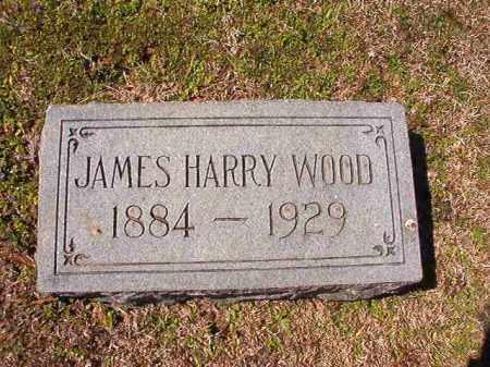 WOOD, JAMES HARRY - Dallas County, Arkansas | JAMES HARRY WOOD - Arkansas Gravestone Photos