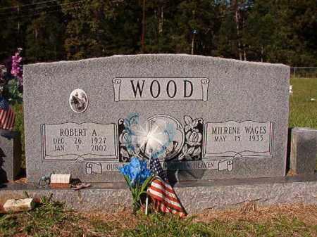 WOOD, ROBERT A - Dallas County, Arkansas | ROBERT A WOOD - Arkansas Gravestone Photos