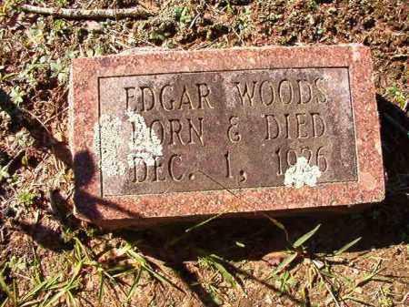 WOODS, EDGAR - Dallas County, Arkansas   EDGAR WOODS - Arkansas Gravestone Photos