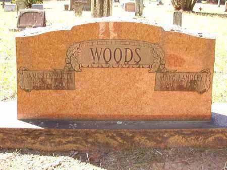 LANGLEY WOODS, MAYE - Dallas County, Arkansas | MAYE LANGLEY WOODS - Arkansas Gravestone Photos