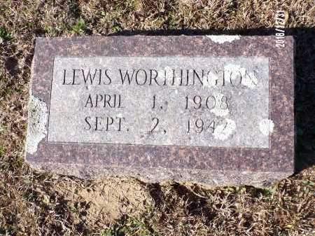 WORTHINGTON, LEWIS - Dallas County, Arkansas | LEWIS WORTHINGTON - Arkansas Gravestone Photos