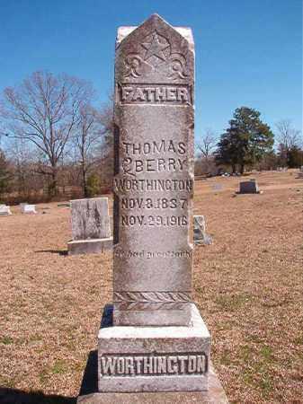 WORTHINGTON, THOMAS BERRY - Dallas County, Arkansas | THOMAS BERRY WORTHINGTON - Arkansas Gravestone Photos