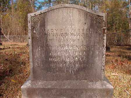 WOZENCRAFT, MARY ELIZABETH - Dallas County, Arkansas   MARY ELIZABETH WOZENCRAFT - Arkansas Gravestone Photos