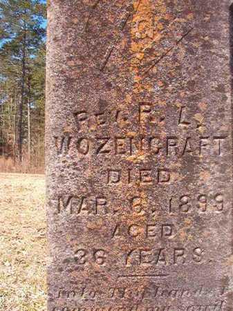 WOZENCRAFT, REV, R L - Dallas County, Arkansas   R L WOZENCRAFT, REV - Arkansas Gravestone Photos
