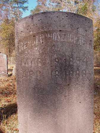 WOZENCRAFT,REV, J P - Dallas County, Arkansas | J P WOZENCRAFT,REV - Arkansas Gravestone Photos