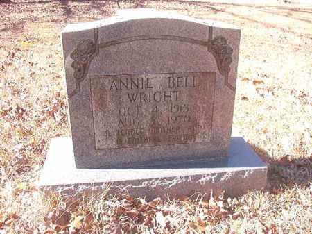 WRIGHT, ANNIE BELL - Dallas County, Arkansas | ANNIE BELL WRIGHT - Arkansas Gravestone Photos