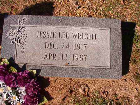 WRIGHT, JESSIE LEE - Dallas County, Arkansas | JESSIE LEE WRIGHT - Arkansas Gravestone Photos