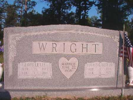 "WRIGHT, JR, LUCIUS G ""LUTE"" - Dallas County, Arkansas | LUCIUS G ""LUTE"" WRIGHT, JR - Arkansas Gravestone Photos"