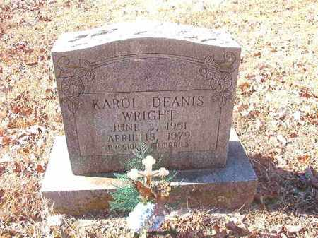WRIGHT, KAROL DEANIS - Dallas County, Arkansas | KAROL DEANIS WRIGHT - Arkansas Gravestone Photos
