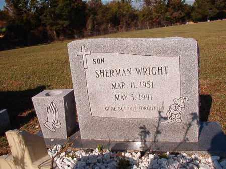 WRIGHT, SHERMAN - Dallas County, Arkansas   SHERMAN WRIGHT - Arkansas Gravestone Photos
