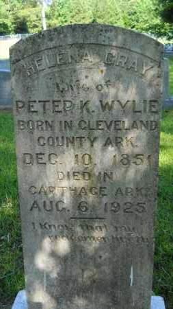 GRAY WYLIE, HELENA - Dallas County, Arkansas | HELENA GRAY WYLIE - Arkansas Gravestone Photos