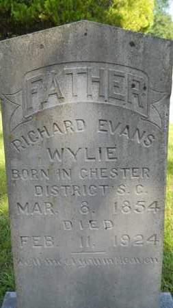 WYLIE, RICHARD EVANS - Dallas County, Arkansas | RICHARD EVANS WYLIE - Arkansas Gravestone Photos