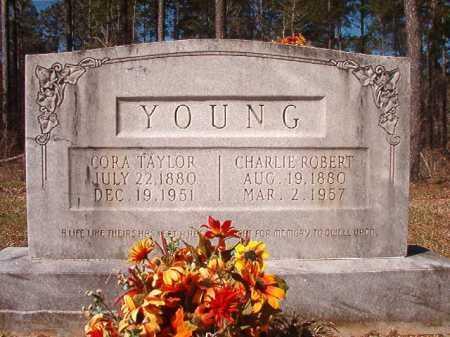 YOUNG, CORA - Dallas County, Arkansas | CORA YOUNG - Arkansas Gravestone Photos