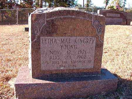 KINGREY YOUNG, LETHA MAE - Dallas County, Arkansas | LETHA MAE KINGREY YOUNG - Arkansas Gravestone Photos