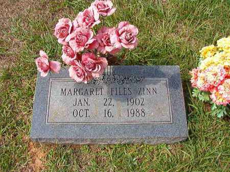 ZINN, MARGARET - Dallas County, Arkansas | MARGARET ZINN - Arkansas Gravestone Photos