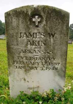 AKIN  (VETERAN), JAMES W. - Desha County, Arkansas | JAMES W. AKIN  (VETERAN) - Arkansas Gravestone Photos