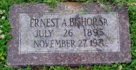 BISHOP SR., ERNEST A. - Desha County, Arkansas | ERNEST A. BISHOP SR. - Arkansas Gravestone Photos