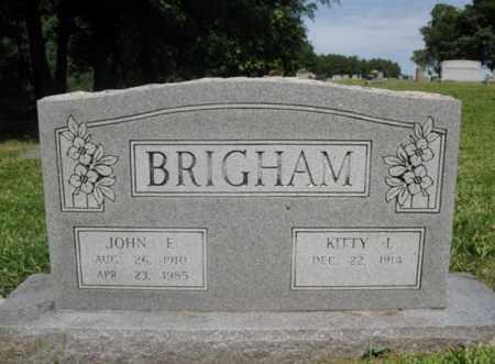 BRIGHAM, JOHN FRAZIER - Desha County, Arkansas | JOHN FRAZIER BRIGHAM - Arkansas Gravestone Photos