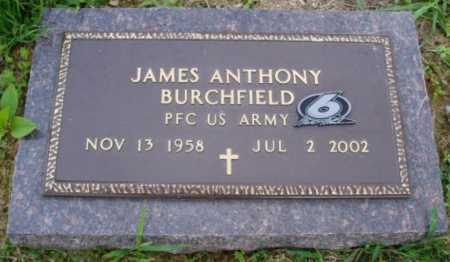 BURCHFIELD  (VETERAN), JAMES ANTHONY - Desha County, Arkansas | JAMES ANTHONY BURCHFIELD  (VETERAN) - Arkansas Gravestone Photos